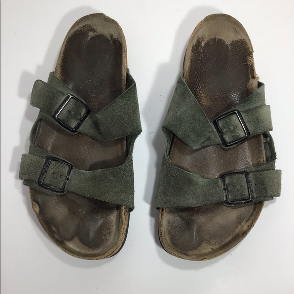 Birkenstock Other - Birkenstock green men's size 10 sandals shoes
